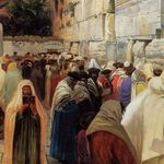 Jews at the Wailing Wall