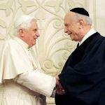 Pope Benedict XVI and Rabbi Arthur Schneier