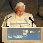 Pope Benedict at Yad Vashem