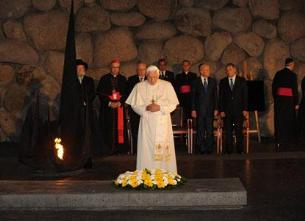 Pope Benedict XVI at Yad Vashem