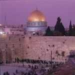 The Dome of the Rock and Western Wall