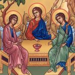 Icon of the Blessed Trinity