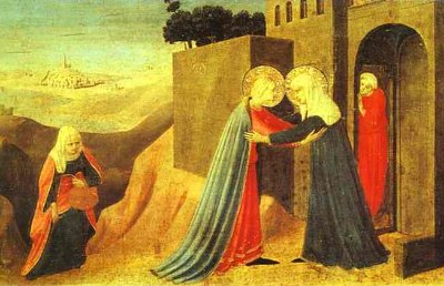 The Visitation in the Hills of Judea