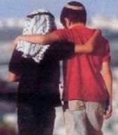 An Arab and a Jewish boy