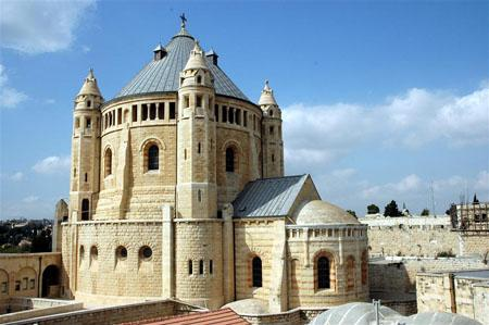 The Dormition Abbey on Mount Zion