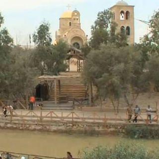 Baptismal site at the Jordan River