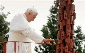 Pope Benedict XVI at Mount Nebo