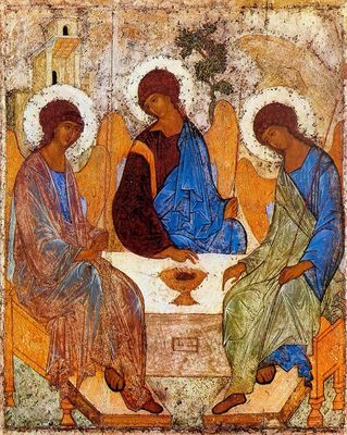 Icon of the Blessed Trinity (Ruvlin)